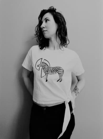 t-shirt Ink Art by Kate
