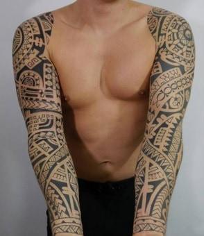 tattoo sleeves matching