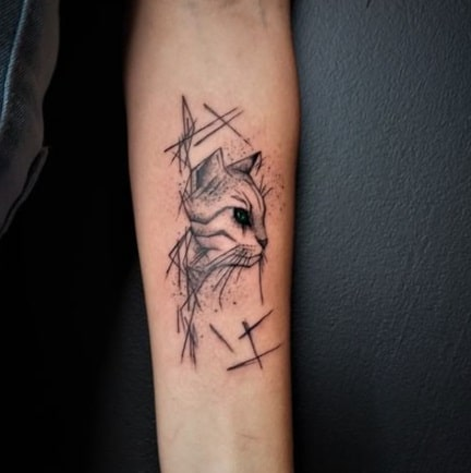 If needle is on a good depth, your tattoo will stay in