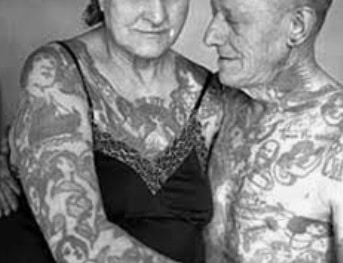 Tattoos cannot cover up wrinkles