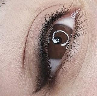 example for women eyeliner tattoo