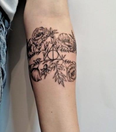 tattoo on inner arm