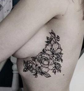 under breast hurts side tattoo