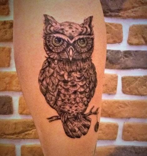 calve tattoo