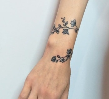 friction and wrist tattoos