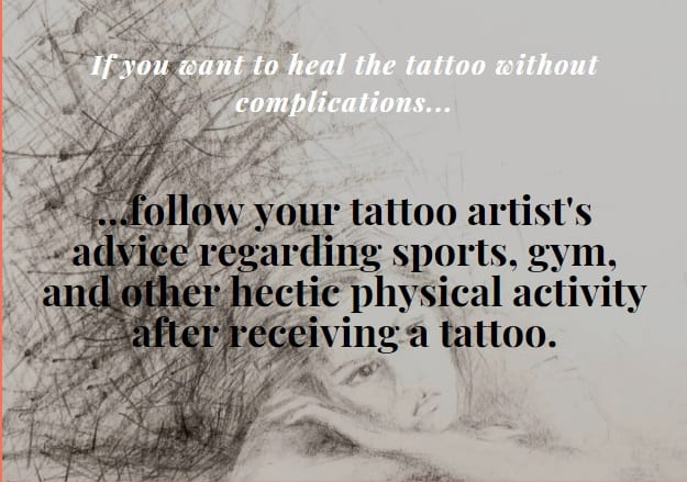 What to do if you want to help your tattoo healing well