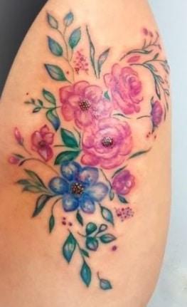 floral motive - my work