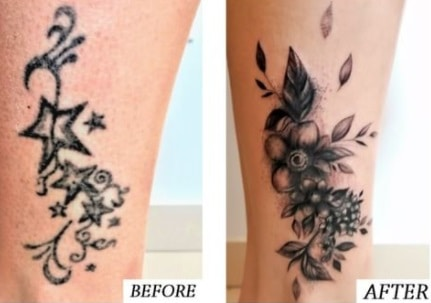 You can cover up tattoo which need to be fixed